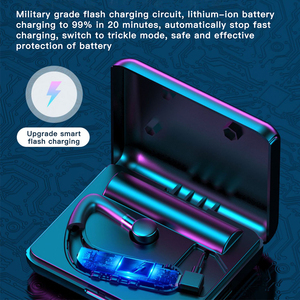 Image 2 - New Y10 Business Bluetooth Earphone Wireless Touch Headphones Stereo Handsfree Noise Reduction HD Mic Earbuds With Charging Box