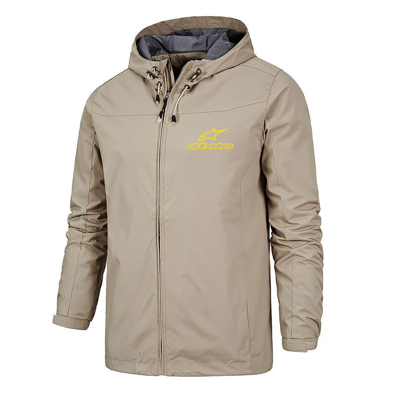 2021 New Windproof And Waterproof Lightweight Outdoor Jacket Mountaineering Autumn And Winter Men's Ski Zipper Casual Jacket