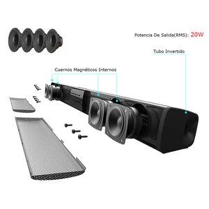 Image 4 - 20W Kolom Draadloze Bluetooth Speaker Tv Soundbar Muziek Stereo Home Theater Portable Sound Bar Ondersteuning 3.5Mm Tf Voor tv Pc