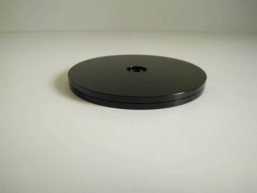 100 MMPs Plastic Turntable Showing Stand Spin Turntable Manual Turntable Display Turntable Acrylic Turntable