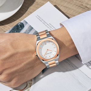 Image 5 - מיני פוקוס Mens שעונים למעלה מותג יוקרה אופנה שעון יד גברים עמיד למים זהב נירוסטה Relogio Masculino Reloj Hombre