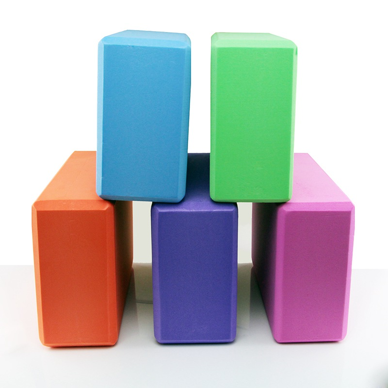 Colorful EVA Foam Yoga Block Brick Exercise Fitness Tool Exercise Workout Stretching Aid Body Shaping Health Training Equipment