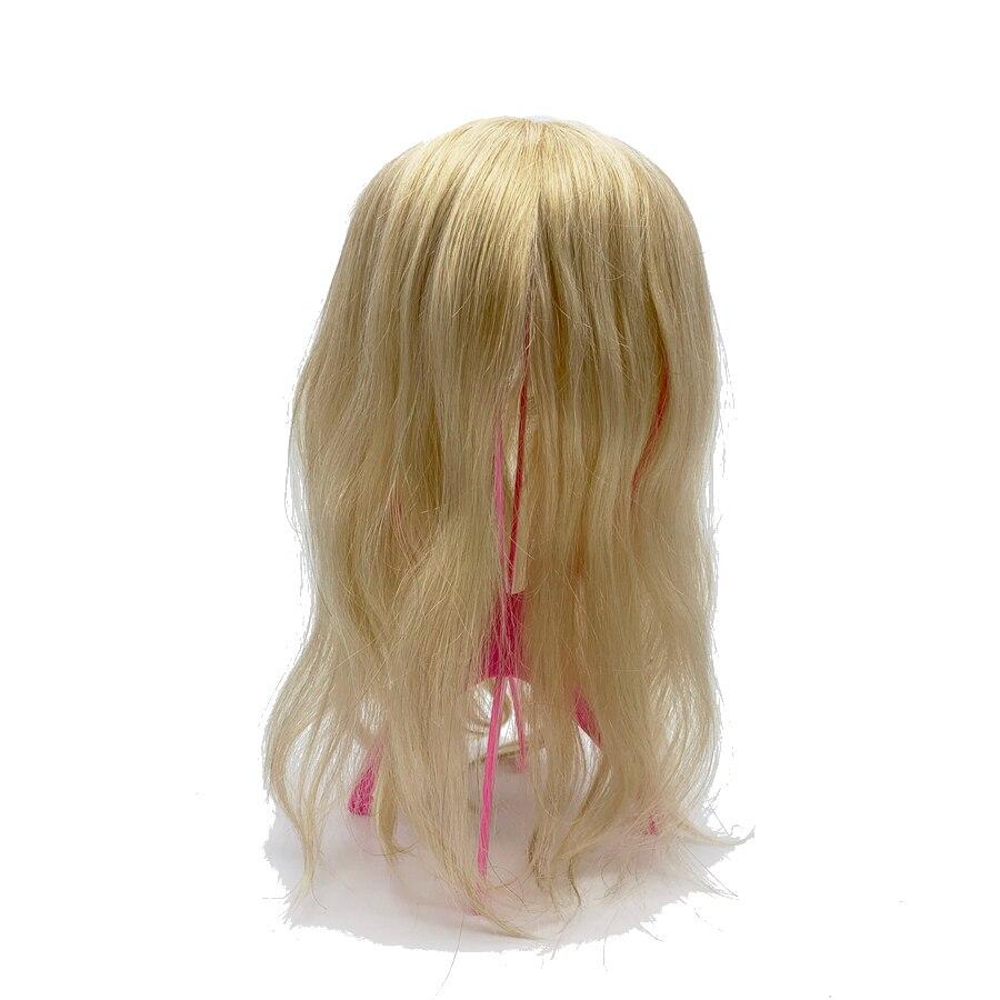 100% cheveux humains sur mesure tout type de base femmes toupet 613 # couleur Blonde - 5
