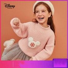 Disney Childrens Clothing Plush Sweater Girls Fashion Baby Kids Sweaters Girl