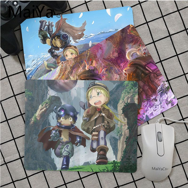 Maiya Top Quality Made In Abyss Laptop Gaming Mice Mousepad Top Selling Wholesale Gaming Pad Mouse