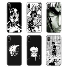 Naruto Dor Principal lee Transparente Casos Suaves Capas Para iPod Touch Da Apple iPhone 4 4S 5 5S SE 5C 6 7 6S 8 X XR XS Mais MAX(China)