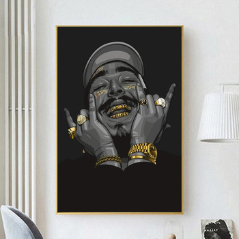 Post Malone Art Poster