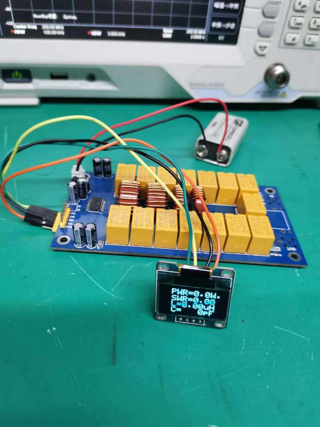 SMD Chip soldered   Firmware programmed    ATU-100 DIY Kits 1 8-50MHz ATU-100mini Automatic Antenna Tuner by N7DDC 7x7   OLED