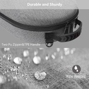 Image 5 - Taşınabilir sert EVA çanta koruyucu kapak saklama kutusu taşıma çantası kılıfı Oculus yarık için S PC güçlü VR oyun kulaklığı