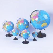 8.5cm giratório globo mundo modelo globo mapa do mundo geografia brinquedo educacional com suporte material de ensino escolar ajudas estudantes crianças