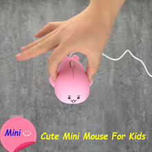 лучшая цена Pink Cute Dolphin Mini Computer Mouse Retractable Usb Cable Wired Optical Mause 3D Animal Ergonomic Small Mice For Kid PC Laptop