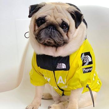 New Pet Dogs Clothes Raincoat for Puppy Small-Big Dogs Clothing French Bulldog Akita Clothes Pugs Dogs Hoodies Dog Windbreaker linda phillips old dogs new tricks