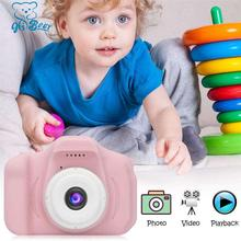 Детская мини камеры розовый дети цифровая камера HD 2