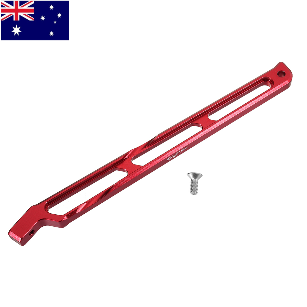 High Quality 165X13X7mm GPM Racing RC  Truck  Optional Partial Aluminum Rear Chassis Link SET MAK016R for 1/8 ARRMA KRATON 6S|Parts & Accessories| |  - title=