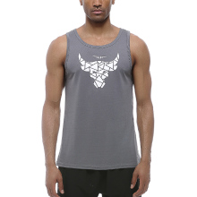 Gym Men Sleeveless Running Bodybuilding Tank Top Muscle Stringer Fitness Shirt Breathable Workout Sport Vest Clothes