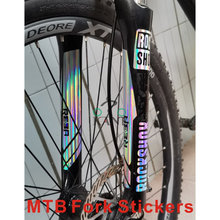 2PICS/SET ROCKSHOX reba Fork Decals Bicycle Front Fork Stickers MTB Fork Bike Stickers Bicycle Stickers Racing Cycling Decals(China)