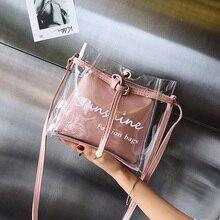 Women bag 2020 New PVC clear bag bolsas Fashion Women Transp
