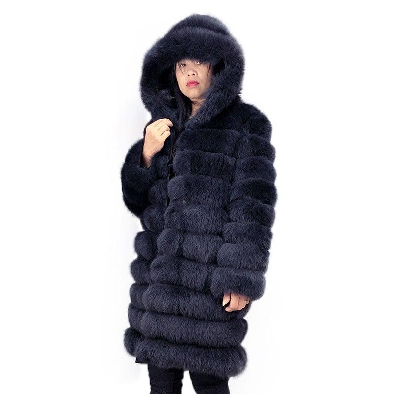 Real Fur Women Coat Real Winter Fox Fur Coat Womens Real Fox Fur Coat Keep Warm In Winter