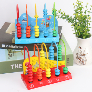 Children's wooden abacus early education toy abacus shelf mathematics educational toys parent-child interactive game Gift plastic toy baby birthday gift desktop funny game tabletop shoot football fossball family parent child interactive educational