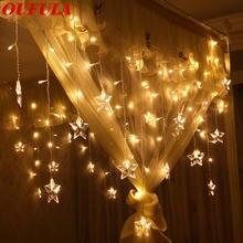 Рождественский светильник светодиодная гирлянда с дистанционным
