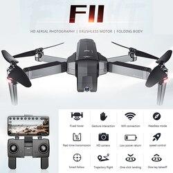 F11 PRO GPS Drone Wifi FPV 1080P 5G/4K kamera HD składany Dron bezszczotkowy Quadcopter 25 minut czas lotu helikopter Vs SG906
