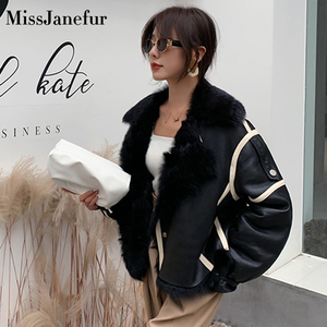 Image 1 - Kadın gerçek koyun derisi DERİ CEKETLER en kaliteli hakiki deri ceket moda ceket bayan yeni varış