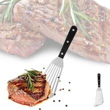 Kuchnia rzeczy stek szpatułka z otworami łopatka łopatka ryby wielofunkcyjne narzędzia do grillowania ze stali nierdzewnej Drop Shipping