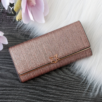 FOXER Brand Women Split Leather Wallets Female Clutch Bag Fashion Coins Card Holder Luxury Purse for Ladies Women's Long Wallet 1
