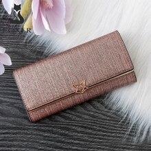 FOXER marka kobiety Split skórzane portfele kobiet sprzęgłowa torba moda monety posiadacz karty luksusowa portmonetka dla pań podłużny portfel damski