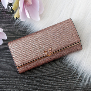 Image 1 - FOXER Brand Women Split Leather Wallets Female Clutch Bag Fashion Coins Card Holder Luxury Purse for Ladies Womens Long Wallet