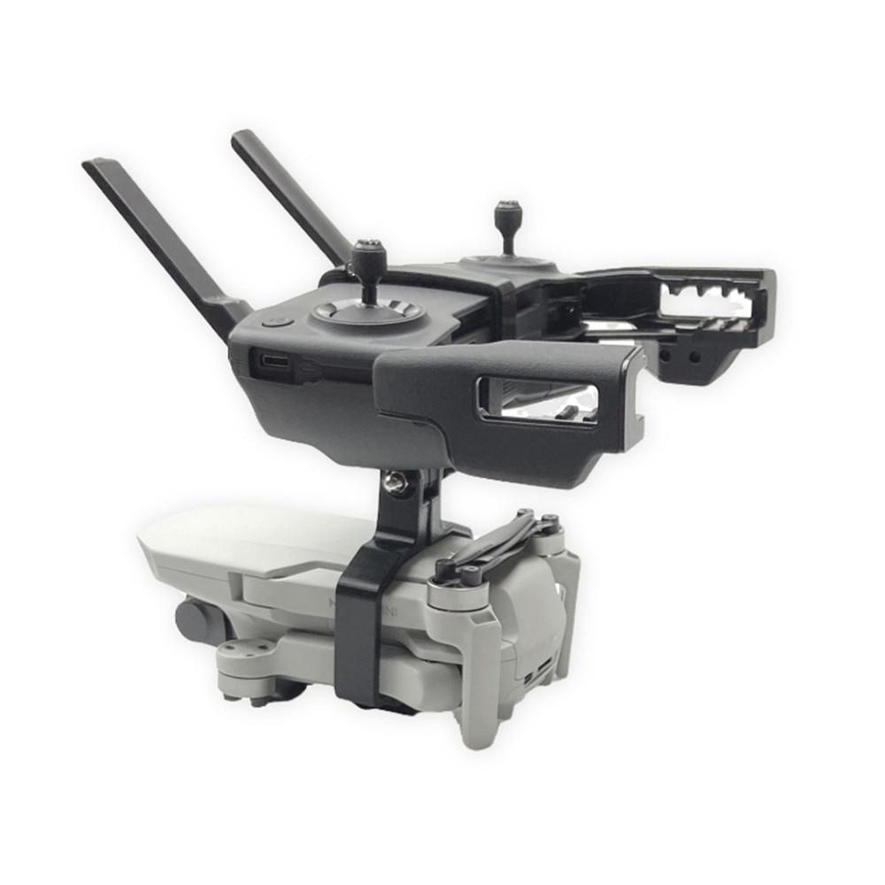 lowest price 3D printing Handheld Gimbal Camera Stabilizer Monitor Controller Tripod Holder Clip Bracket For DJI Mavic Mini Accessories