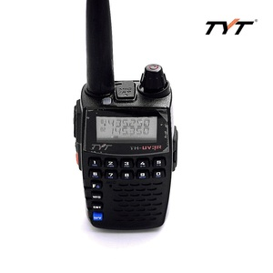 Image 3 - TYT UV 3R Dual Band שתי דרך רדיו VOX VHF/UHF נייד חזיר משדר מיני מכשירי קשר מהדר לקזז חיצוני אינטרקום