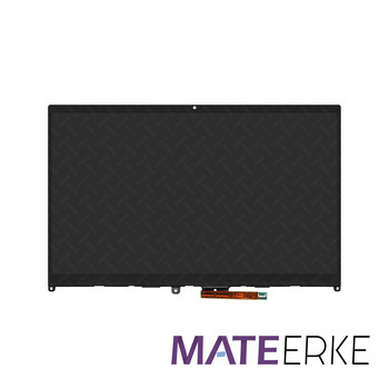 14'' LCD Touch Screen Digitizer Assembly+Bezel For Lenovo Ideapad Flex 5-14IIL05 81X1 5-14ARE05 81X2 N140HCA-E5B image