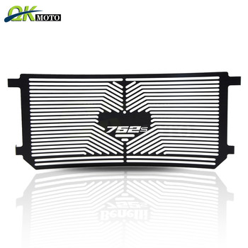 Motorcycle Aluminum Radiator Grille nets Radiator Guard Protector cool down net Cover Accessories For Benelli 752s 2018-2019