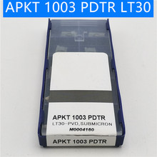Carbide inserts APKT1003 PDTR LT30 lathe tools Milling Turning Tools Tungsten Carbide apkt 1003 PVD Cutting turning insert free shipping 50pcs lot apkt160408 pm ybg102 apkt 160408 pm apkt160408 pvd zcc ct inserts zccct cemented carbide milling insert