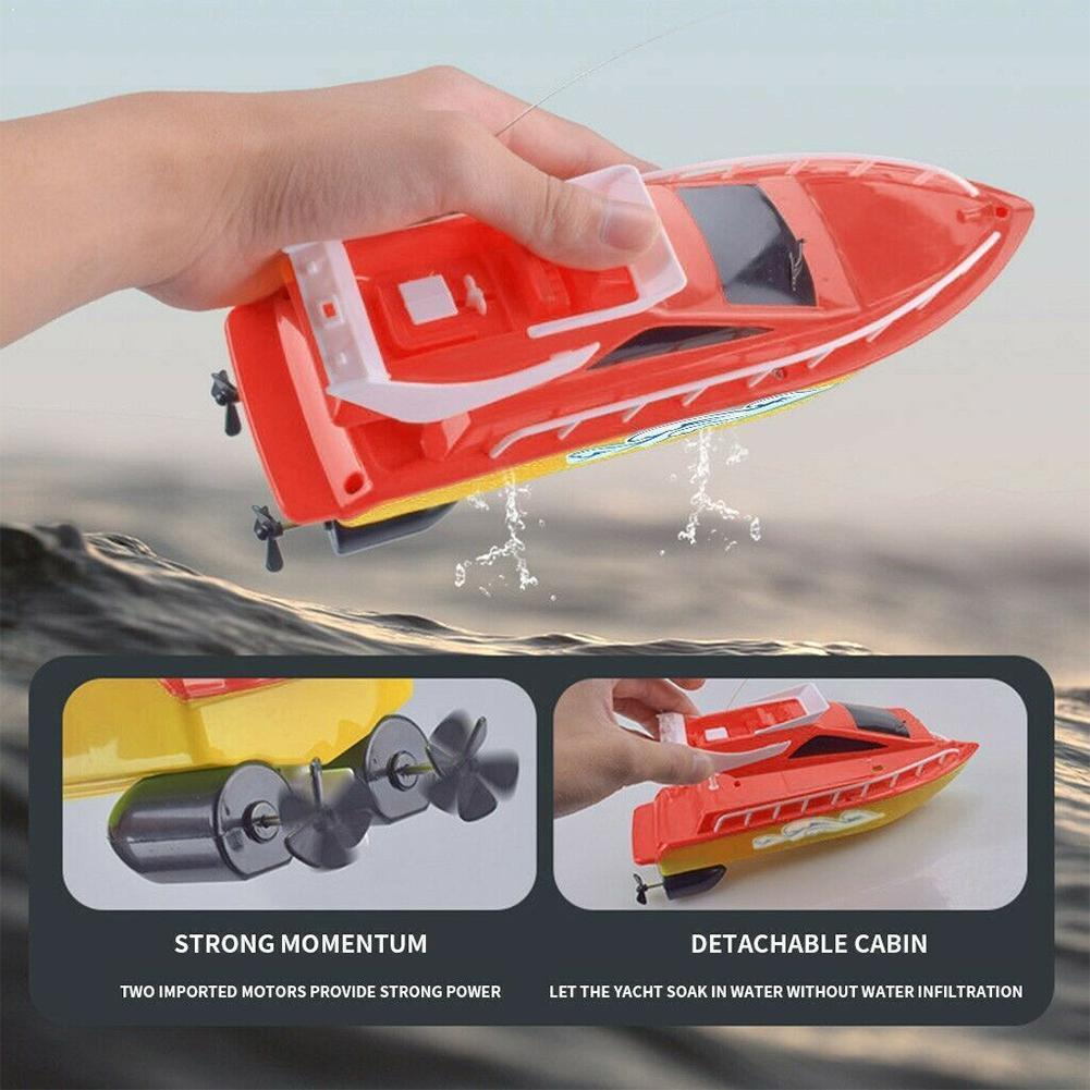 High-speed rowing summer water speed boat children's model competitive endurance toy airplane long-lasting W5M6