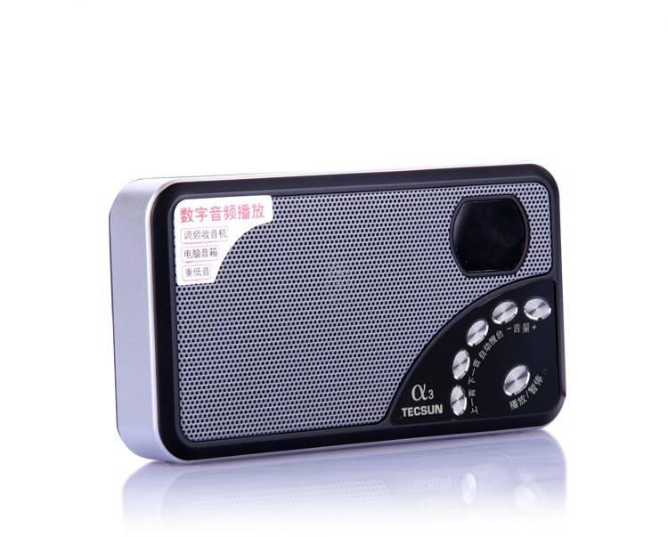радиоприемник tecsun a3, fm, mp3, tf-card