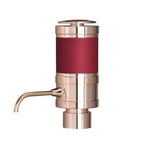 Электрический аэратор и диспенсер для вина-быстро окисляет, портативный, автоматический насос для бутылок с металлической выливной носик...