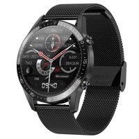 Para el Huawei Xiaomi Android Apple teléfono inteligente reloj Android Respuesta de llamada IP68 impermeable reloj inteligente 2021 hombres 360*360 ECG PPG