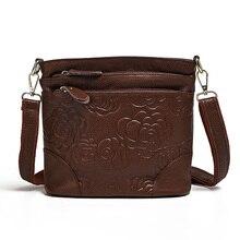 กระเป๋าถือผู้หญิงที่มีชื่อเสียงแบรนด์กระเป๋าและกระเป๋าถือหนังแท้กระเป๋าสำหรับสุภาพสตรีVintage Crossbodyกระเป๋าสำหรับกระเป๋าMessengerผู้หญิง