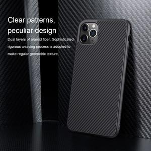 Image 5 - Capa para iphone 12 mini 11 pro max xr x xs max iphone11 embalagem nillkin fibra sintética de carbono plástico capa para iphone 11 caso