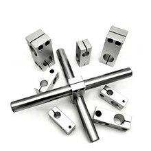Block-Bracket Fix-Clamp Vertical-Cross-Support Shaft Fix-Alloy-D10-32 Fasten Connect