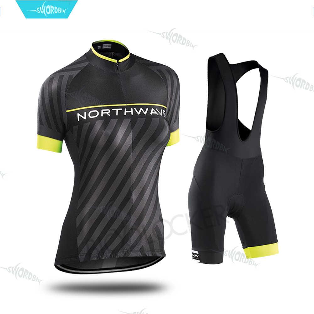 2020 велосипедная одежда Northwave для женщин форма набор горный велосипед гоночная
