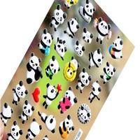 20pcs/pack Kawaii Panda 3D Bubble Sticker DIY Diary Decoration Album Scrapbooking Sticker Shool Office Party Supply