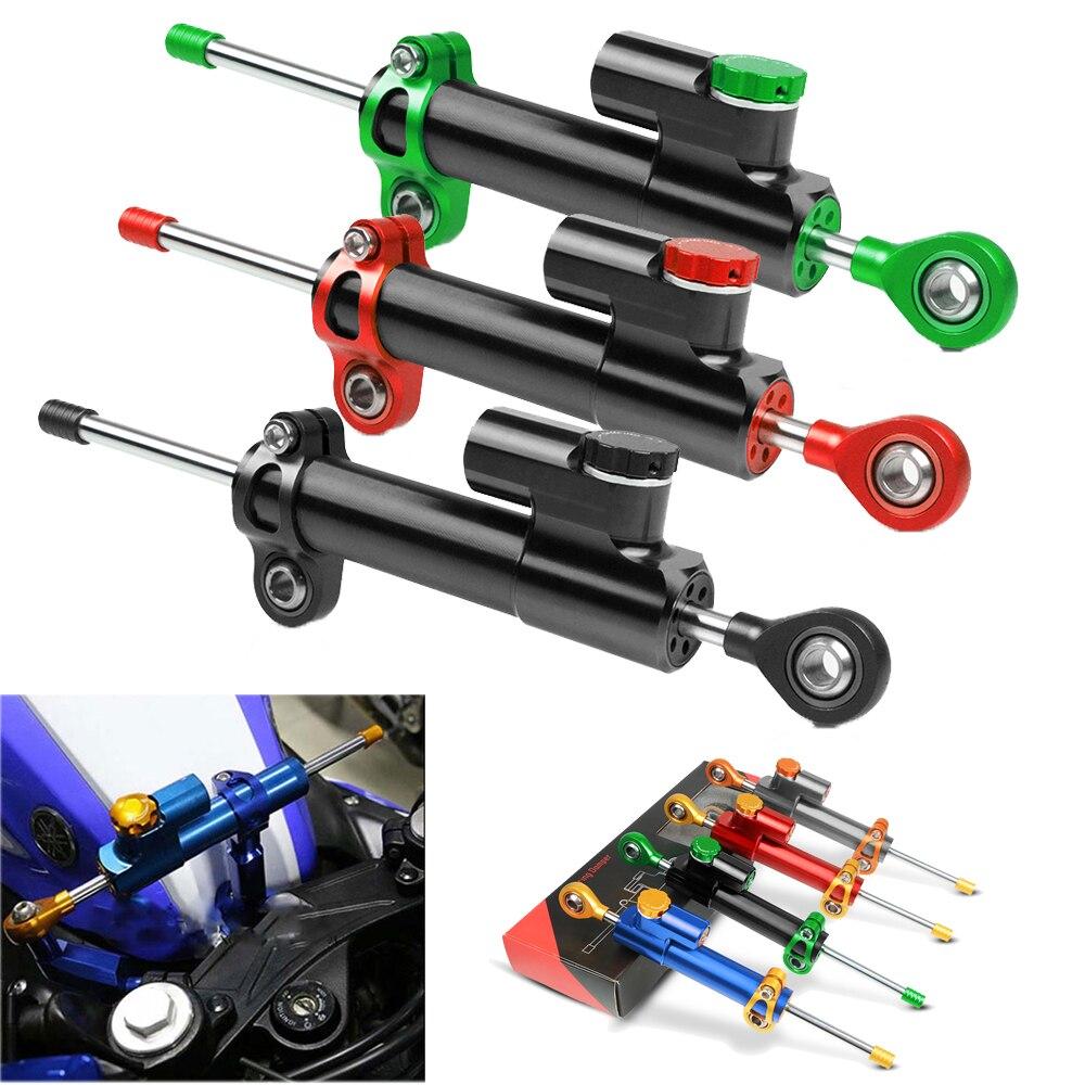 Motorcycle Steering Damper Stabilizer Linear Reversed Control