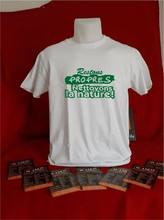 T-shirt Restons Propres Nettoyons La Nature