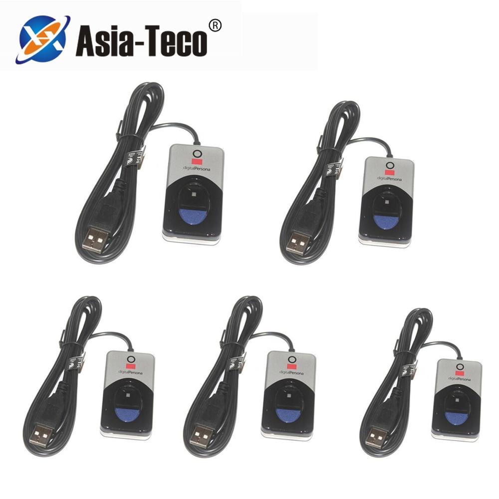 5 шт./лот, сделано на Филиппинах u are u 4500, оригинальный цифровой персональный USB биометрический сканер отпечатков пальцев, сканер отпечатков п...