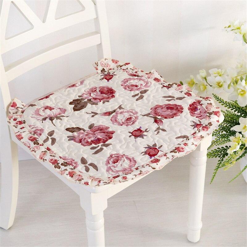 Cloth Office Home Dining Chair Cushion 12 Colors Thin Seat Mat Sofa Car Sit Pad Breathable Cushion Buttocks Mat Anti-skid New
