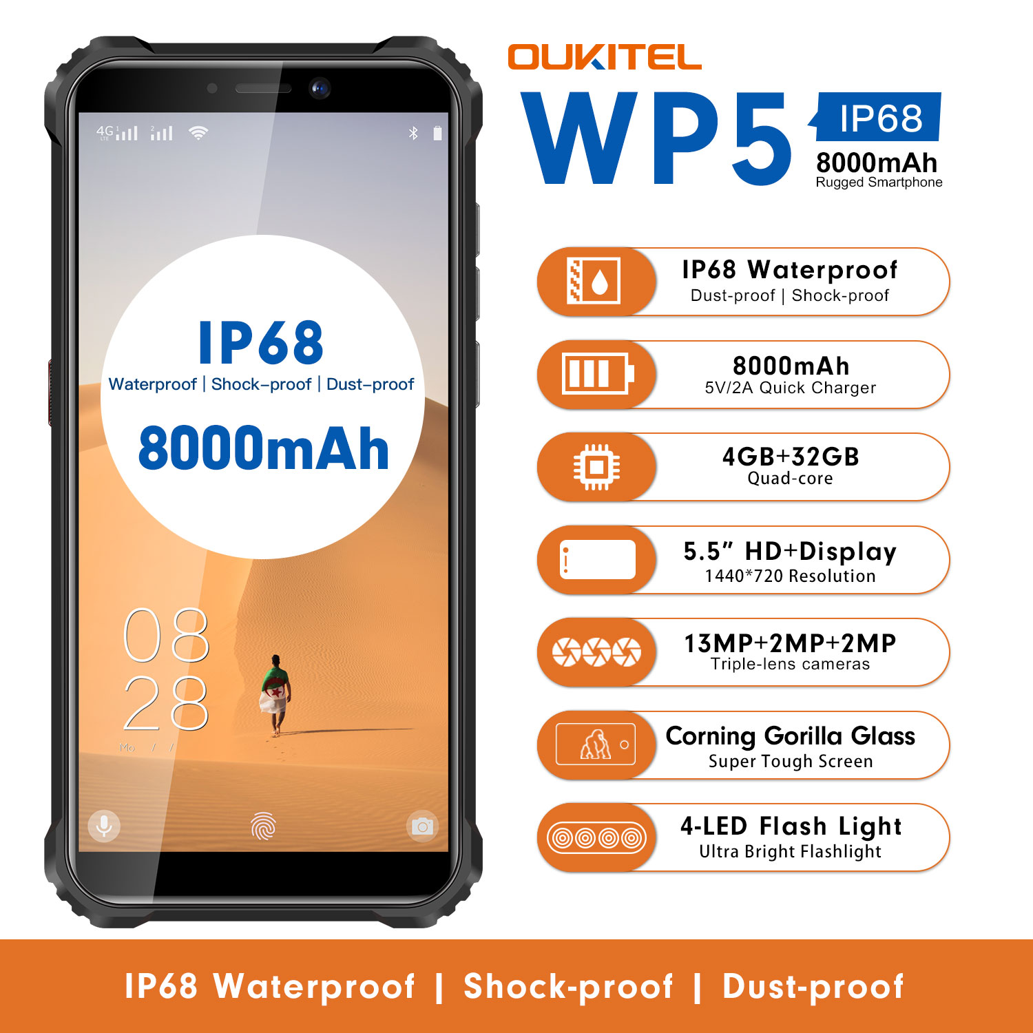 Oukitel WP5 review