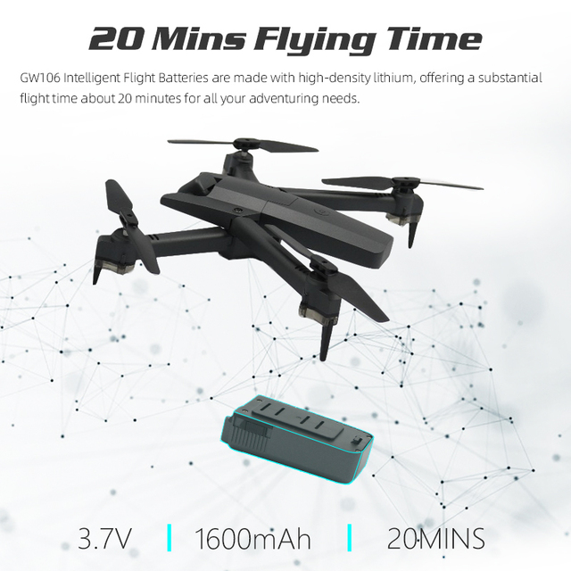 Global Drone 4K Drone Quadrocopter Dron Long Fly Time RC Helicopter Selfie Drones with Camera HD VS SG901 SG106 SG706 E58 E520 4